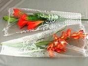 Упаковка для цветов,  пакет конус.