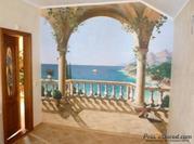 Художественная роспись стен и потолков,