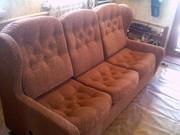 Переобтяжка мягкой мебели,  изменение дизайна,  ремонт любой сложности,