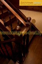 Изготовление лестниц из массива дерева по индивидуальному заказу.