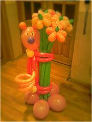 Гелиевые шары,  оформление праздников воздушными шарами,  цветы из шаров