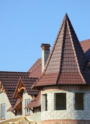 Металлочерепица на крышу Каждый владелец частного дома хочет жить комф