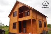 Дома,  Бани из Сухого Профилированного Бруса,  Дачные постройки