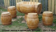 Продаю столярные резные изделия ручной работы из дуба