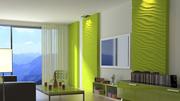 3D (3Д) гипсовые стеновые панели  в Могилеве