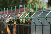 Забор. Сетчатый забор. Забор из сварной сетки.