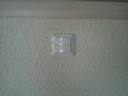Установка выключателей.