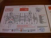 Разработка и изготовление планов эвакуации.