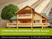 Строительство деревянных домов. Могилев.
