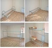 кровать металлическая одноярусная и двухъярусная