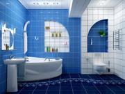 Ванны и туалеты под ключ. Быстро,  качественно
