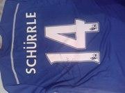 Автограф Andre Schurrle, игрок Боруссии Дортмунд и сборной Германии.