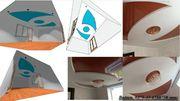 Дизайн-проект потолка из гипсокартона