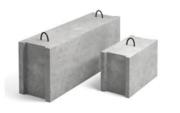 Фундаментный блок строительный ФБС 9.4.6