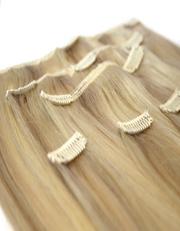 Натуральные  волосы, пряди на клипсах
