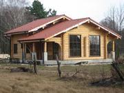 Продаём бревенчатые дома ручной рубки по норвежской технологии.
